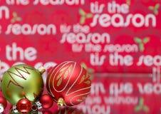Christmas Season Royalty Free Stock Photo