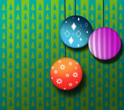 Christmas season background Stock Images