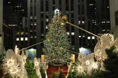 Christmas season in New York Stock Images