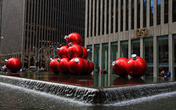 Christmas season in New York Stock Photos
