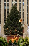 Christmas season in New York Stock Photography