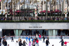 Christmas Season at Rockefeller Center NYC Stock Images