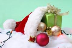 Christmas Seasonal Setting Royalty Free Stock Images