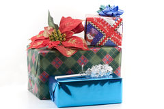 Christmas Seasons gifts Royalty Free Stock Images