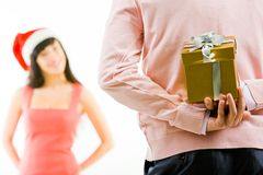 Christmas secret Royalty Free Stock Photo