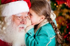 Christmas secret Royalty Free Stock Image
