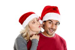 Christmas secret Royalty Free Stock Images