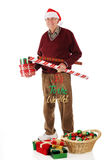 Christmas Senior Royalty Free Stock Photo