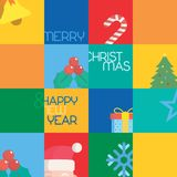 Christmas sentiments Stock Images