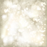 Christmas sepia background. royalty free illustration