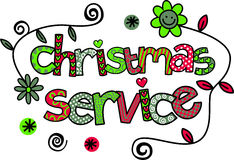 Christmas Service Royalty Free Stock Images