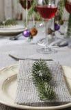 Christmas serviette Stock Image