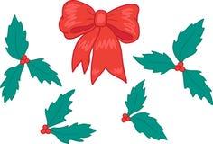 Christmas set 1 Royalty Free Stock Image