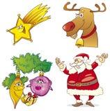 Christmas set Royalty Free Stock Photos