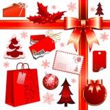 Christmas set Stock Photography