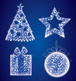 Christmas set Royalty Free Stock Image