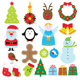 Christmas set Stock Photo