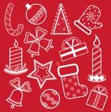 Christmas set Royalty Free Stock Photo