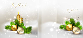 Christmas  set Stock Photography