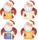 Christmas set. Christmas vector set of images for card Royalty Free Stock Photography