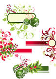 Christmas set. Christmas background. Can be used for different purposes Stock Images