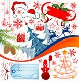 Christmas Set Stock Photo