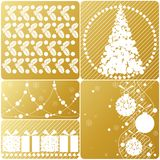 Christmas set. Stock Images