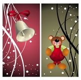 Christmas set of banners1 Stock Photo