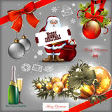 Christmas set Royalty Free Stock Photography