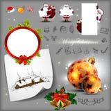Christmas set Stock Images