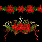 Christmas set elements for your designs royalty free illustration