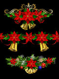 Christmas set elements for your designs Royalty Free Stock Image