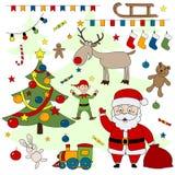 Christmas set. Stock Image