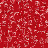 Christmas set of pictures Royalty Free Stock Photo