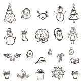 Christmas set Royalty Free Stock Image