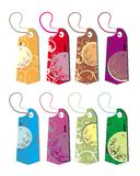Christmas set of tags. Tag business sale winter ball Vector Illustration