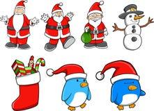 Christmas Set Vector Stock Photo