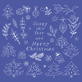 Christmas set5 Royalty Free Stock Images