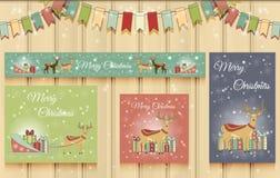 Christmas Set of Web Banners. Stock Photography