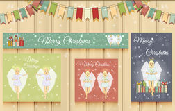 Christmas Set of Web Banners. Stock Images