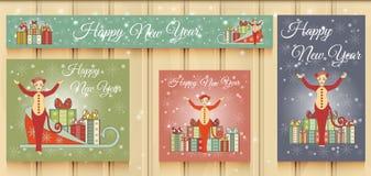 Christmas Set of Web Banners. Royalty Free Stock Photos