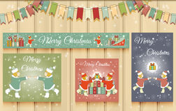 Christmas Set of Web Banners. Stock Photo