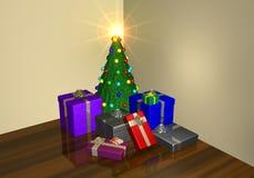A Christmas setting Royalty Free Stock Photo