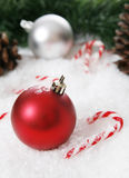 Christmas Setting Royalty Free Stock Image
