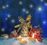 Christmas setting Stock Image
