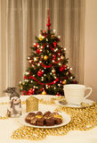 Christmas setting Stock Photos