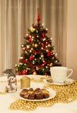 Christmas setting stock photos