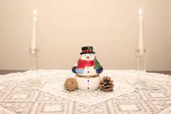 Christmas Setting Stock Photo