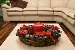 Christmas setting royalty free stock photo