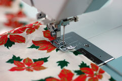 Christmas Sewing Royalty Free Stock Photography